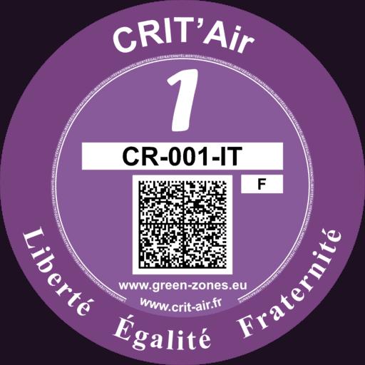Vignette CRIT'air