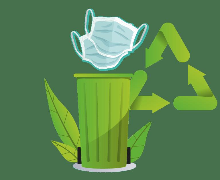 """Nouvelle offre """"recyclage des masques"""""""