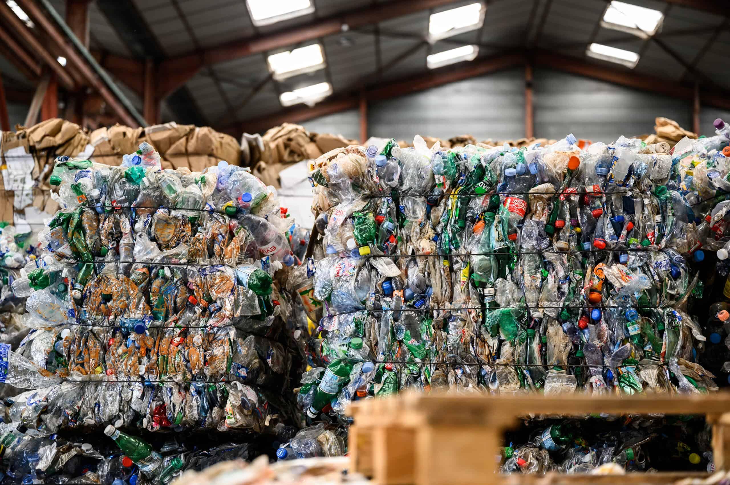 Consommation bouteilles en plastiques