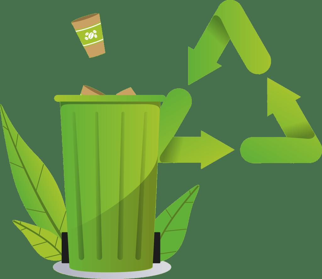 recyclage gobelet carton